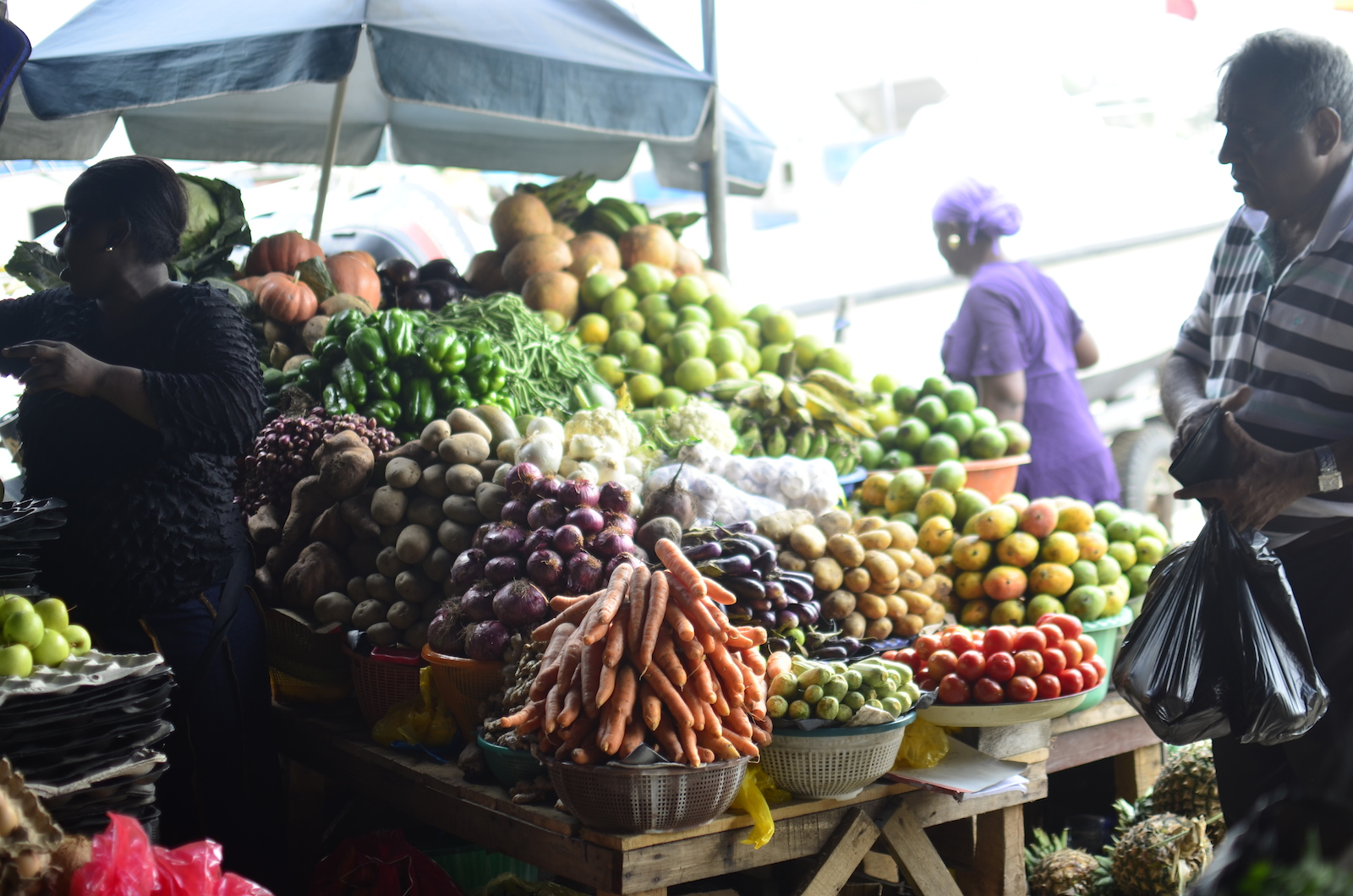 Nigerian food market
